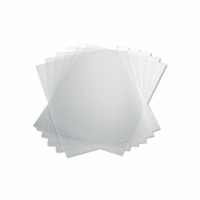 TruBind 10 Mil 8-1/2 x 11 Inches PVC Binding Covers - Pack of 100 Clear (CVR-...