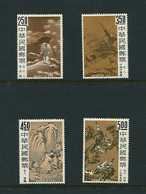 China/Taiwan  1966  #1479-82  Paintings from Palace Museum  4v. MNH  G640