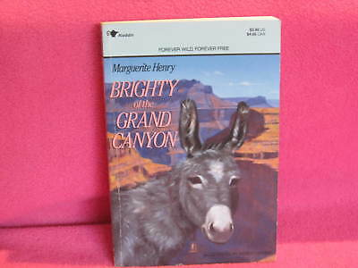 BRIGHTY of the GRAND Canyon ~ Marguerite Henry. Sc   Shaggy little Burro in MELB