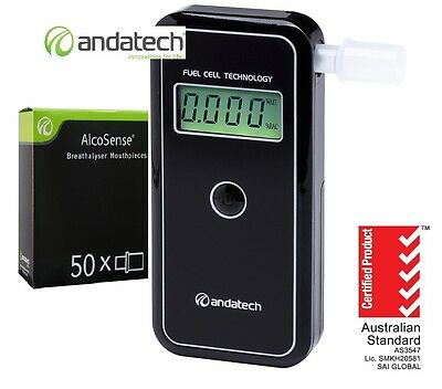 Andatech AlcoSense Stealth AL9000 Fuel cell Alcohol Breathalyser