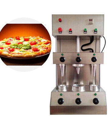 2 in 1 commercial Pizza Cone Forming Making Maker Machine + Rotational  Oven
