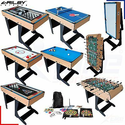 Riley 21 in 1 Multi Games Table - Football, Chess, Pool, Bowling - Folding