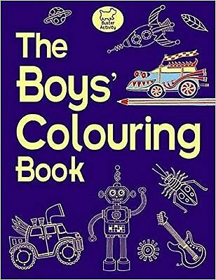 The Boys' Colouring Book - New