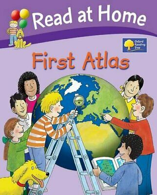 Oxford Reading Tree: Read at Home First Atlas by Hunt, Roderick Hardback Book
