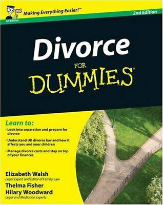 Divorce for Dummies (2nd UK Edition) by Reed, Mary Paperback Book The Cheap Fast