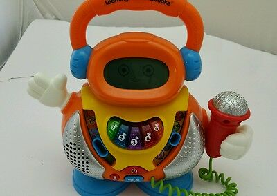 VTECH  Educational Learning Tunes Karaoke  15 Songs & Voice Changer Toy Works