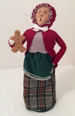 Byers Choice Carolers-1997 Gingerbread Adult Woman #87/100