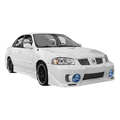 FOR NISSAN SENTRA 04-06 Evo 5 Style Fiberglass Front Bumper Cover Unpainted