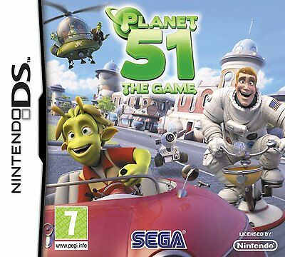 Planet 51 The Game NDS DS Lite DSi XL Brand New