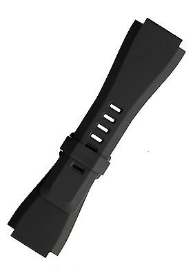Quality Soft Silicone Rubber Diver Watch Band Strap For Bell & Ross BR-01