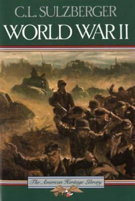 American Heritage Library: World War II by C. L. Sulzberger (1985, Paperback)