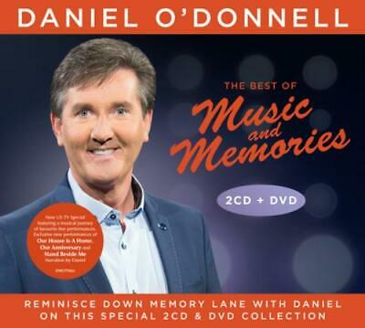 Daniel O'Donnell : The Best of Music and Memories CD Album with DVD 3 discs