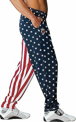 Otomix Youth Kid's American Flag USA Baggy Muscle Workout Pants **AUTHENTIC**