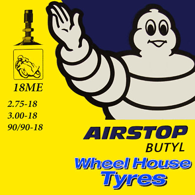 Michelin Motorcycle Inner Tube 18ME 2.75, 3.00, 90/90-18