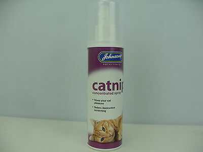 Johnson's Concentrated Catnip Spray Cat Kitten Fresh Cat Nip Drive Cats Crazy