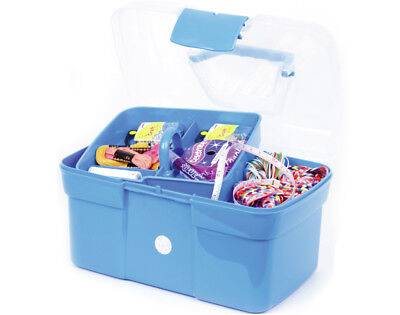 Blue Plastic Crafters Caddy | Craft Storage Containers