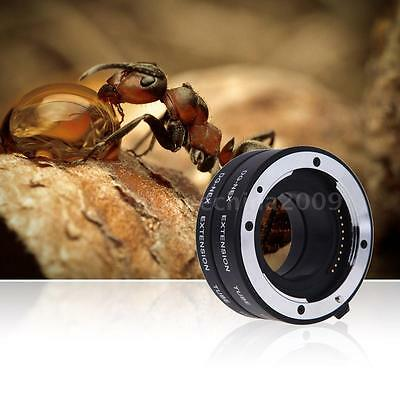 Lens Macro Extension Ring Tube Adapter for Sony E-mount NEX NEX-6 A7R A3000 F8U1