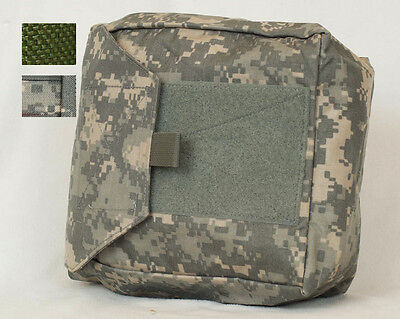 MOLLE Gas Mask Pouch Side Deploy OD Green/ACU Point Blank PWM83J