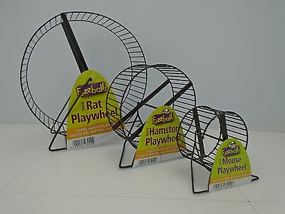Pennine Rat, Degu, Mice, Hamster Metal Exercise running Play Wheel Small Rodents