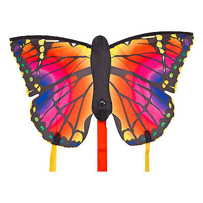 HQ Butterfly Single Line Kite Inc 3M Tails Ruby R Ready 2 Fly Fun Kids Toy