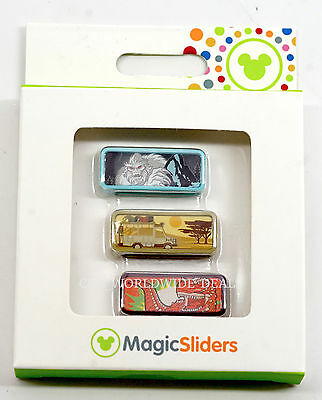 Disney Parks Magic Band Magic Sliders Animal Kingdom Everest, Safari, Dinosaur