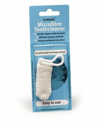 Dog Tooth Cleaner Microfibre Silver Dog Teeth Cleaning Dog Teeth Plaque Removal