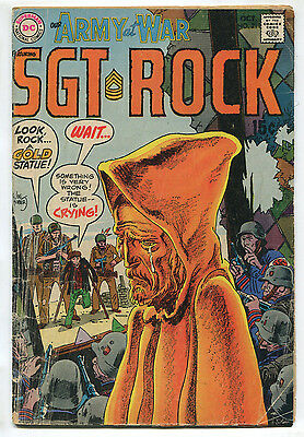 1969 Our Army at War Sgt. Rock #211 ~The Statue is Crying!~ (Grade 4.0) WH