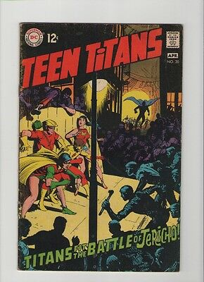 Teen Titans #20 - Neal Adams Writing & Art - 1969 (Grade 5.0) WH