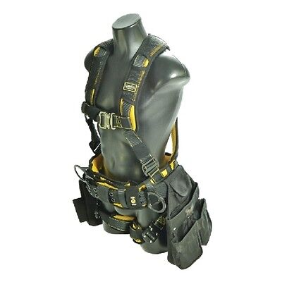 Guardian 21033 Cyclone Construction Harness SM Quick Connect Chest/Leg TB Waist