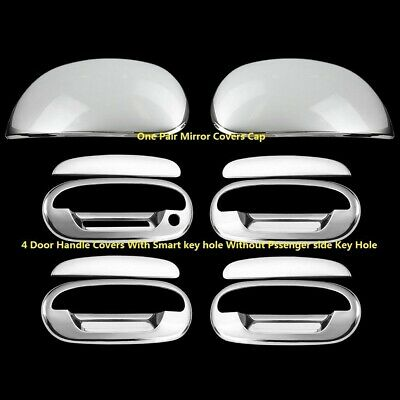 For Ford F-150 97-03 Chrome Mirror Cap covers and 4 Doors handles Covers