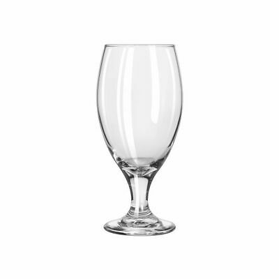 12x Beer Glass, 436mL, Libbey 'Teardrop',  Commercial Glasses