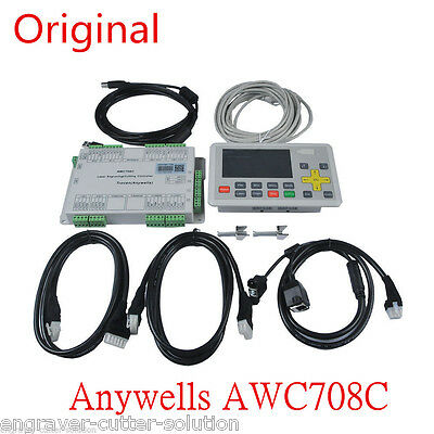 Trocen Anywells AWC708C LITE Laser Controller System, CO2 Laser Cutter Engraving