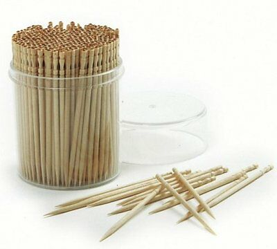 360 Pcs Ornate Wood Carfting Toothpicks
