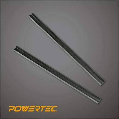 POWERTEC 128306 3-1/4 Planer Blades for Makita N1900B, 1902X7, HSS, Set of 2