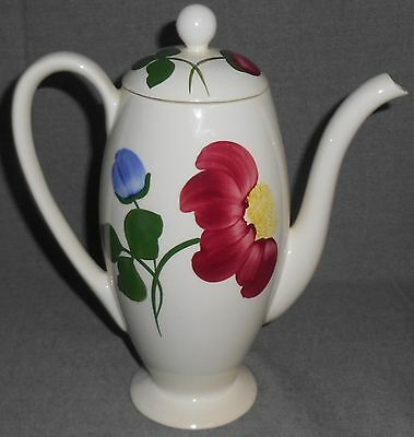 Blue Ridge SHOW OFF PATTERN Hand Painted OVIDE COFFEE POT