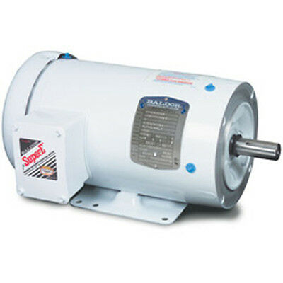 BALDOR CEWDM3546; AC Motor 1HP AC 1800 RPM Three Phase 56C TENV