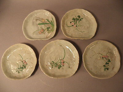 Five Japanese Porcelain Dishes 18/19Th Century