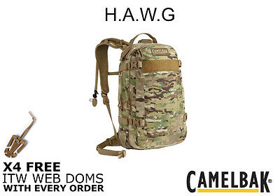 Camelbak HAWG 2016 Laser Cut w/ 4 Free ITW WebDoms 23L Capacity Free Delivery