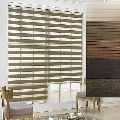 Super Romance Double Roller blind shade Home Window blind Custom made to order