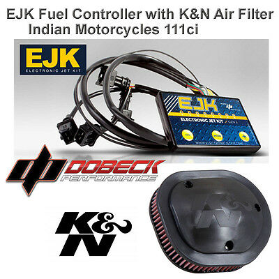 Indian Chief Cheiftan Roadmaster EJK Fuel Injection Controller & K&N Air Filter