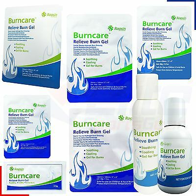 Burncare Hydrogel Burn Relief Gel Dressing Scalds Care First Aid Treatment