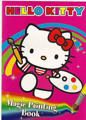 Hello Kitty Magic Painting Book - NEW