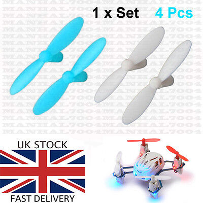 Hubsan Nano Q4 H111 Propellers Blades blue-white - Spare Parts Quadcopter Drone