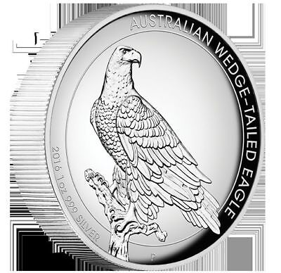 2016 Wedge Tailed Eagle 1oz Silver Proof High Relief Coin