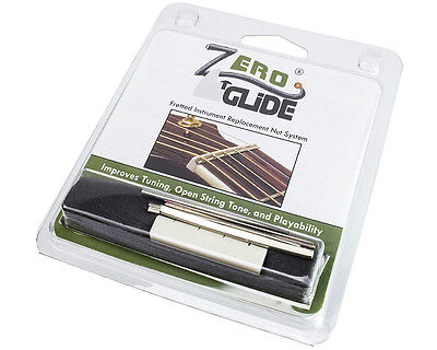 Zero Glide ZS-8 Replacement Nut System for Banjo, Slotted