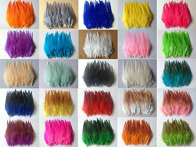 Beautiful 50pcs/100pcs rooster tail feathers 10-15cm / 4-6inch 26 Colors
