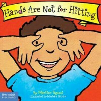 NEW Hands Are Not for Hitting By Martine Agassi Board Book Free Shipping