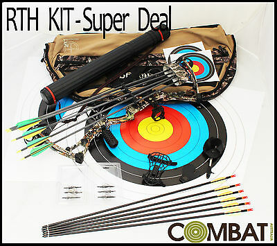 NEW RTH Martin Blade x4 Compound Bow, Ready To Shoot, Archery, Target, Hunting