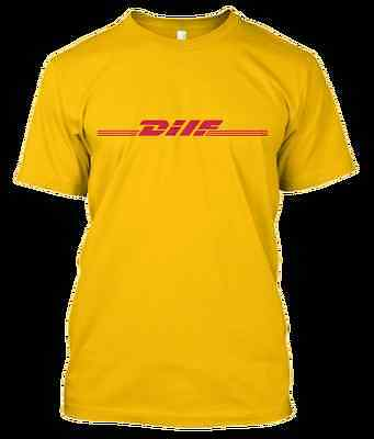 DHL vetements DILF delivery yellow