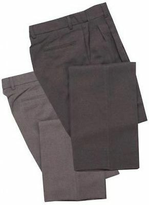 """Bbs375 Smitty Umpire Pleated Combo Pants Charcoal Grey Size 42"""""""